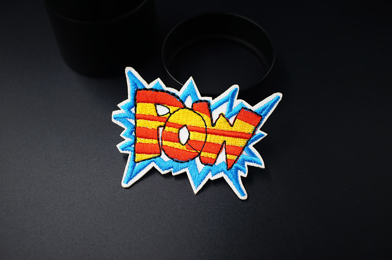 LOVE OOPS POW HEY Mend Patch Badges Embroidered Applique Sewing Clothes Stickers Garment Apparel Accessories Patches Badge