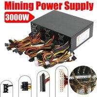 3000W Modular Power Supply Fr 12GPU Eth Rig Ethereum Coin Mining Miner Dedicated High Quality Computer