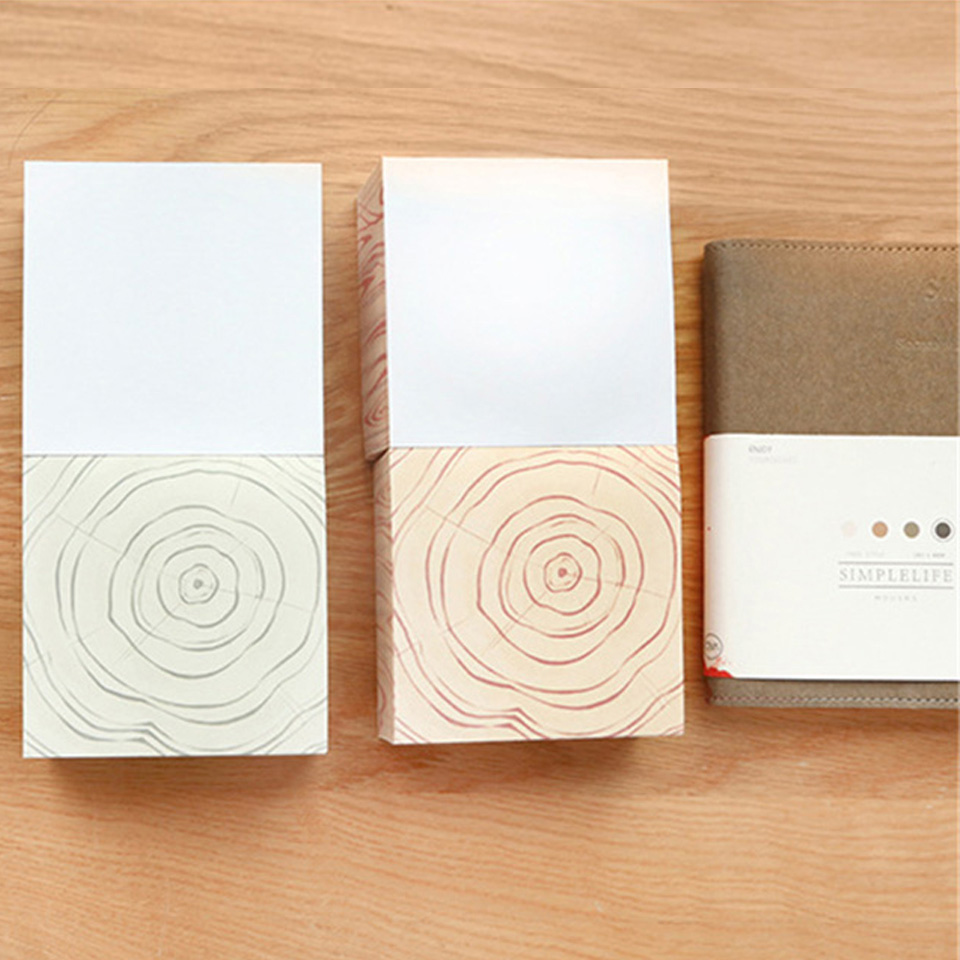 1pcs Kawaii Grain Memo Pad 300 Sheets Super Thick N Sticky Notes Memo Pads Stationery Office School Supplies