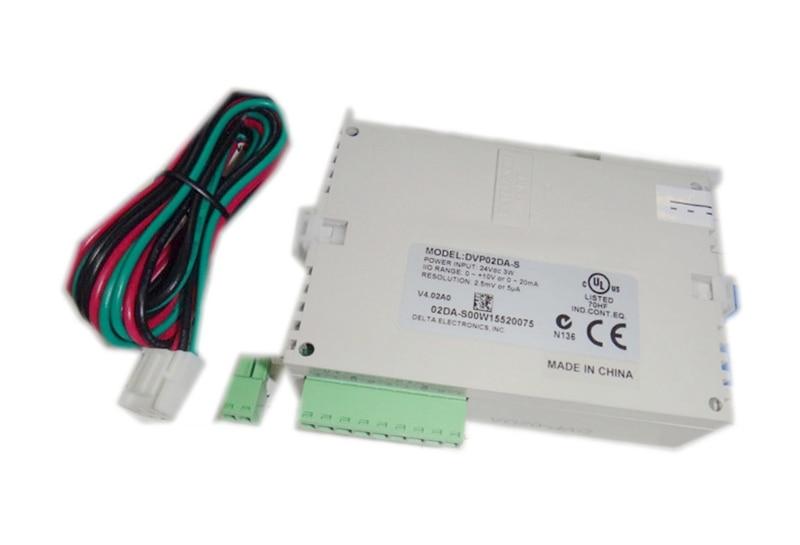 New Original DELTA DVP02DA-S PLC 2AO Module new original delta plc dvp32eh00r2