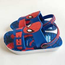 Summer children sandal Spiderman Cool Kids Shoes Boys Sport Sneakers Casual sandals Iron man Captain of America fashion