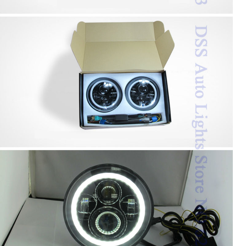 40w 7inch led headlight for jeep (3)