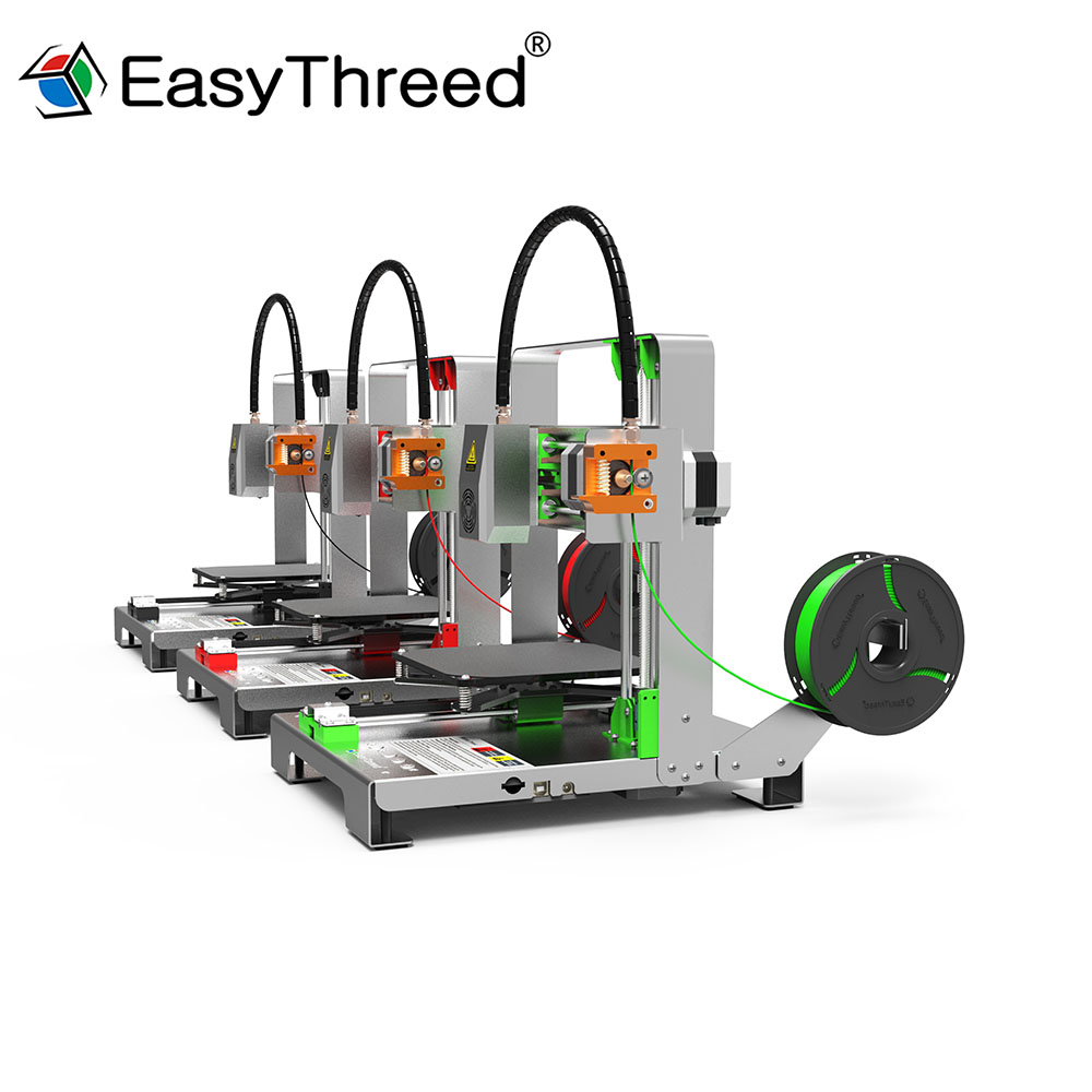 2018 3D Printer MERCURY EasyThreed Full Metal Frame High Precision Nozzle Extruder Board Bed Parts Kit No Assembly