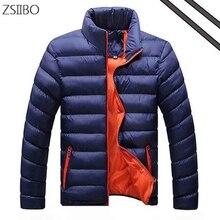 Зимние мужские куртки повседневные ветровки куртки и пальто качество толстые тонкие мужчины модная в Лучши�