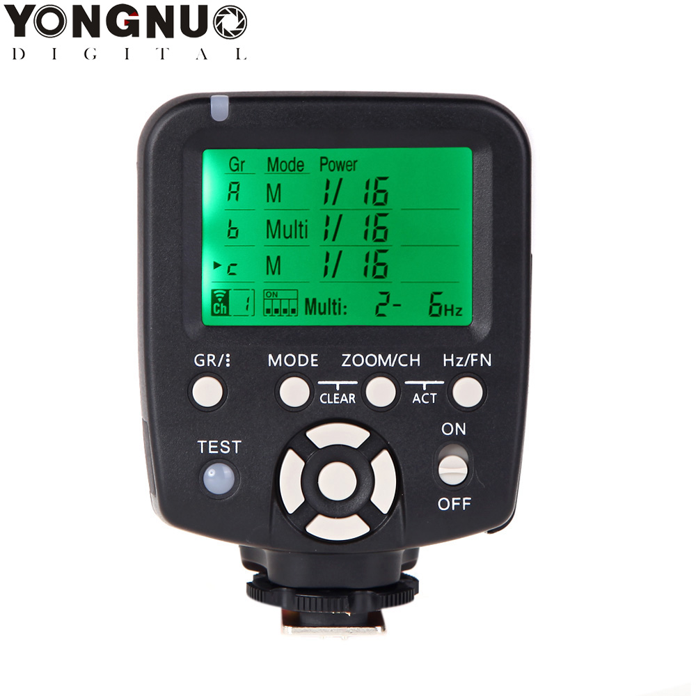 Yongnuo Wireless Flash trigger Controller and Commander for Nikon DSLR Cameras YN 560III YN 560TX YN560TX