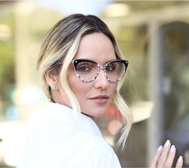 Rivet Styles Optical Fashion Cat Eye Glasses