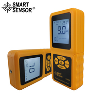 Surface Resistance Meter Handheld LCD megger insulation Tester with Temperature Measurement and Data Holding SMART SENSOR AS982