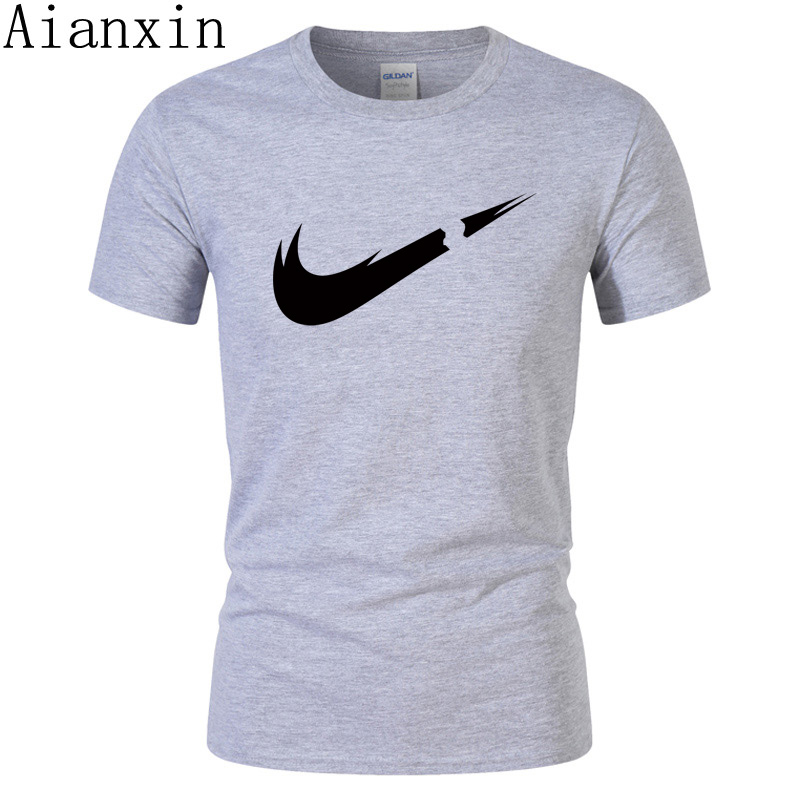 2019 nouvelle marque hommes T-Shirts été coton à manches courtes T-Shirts T-shirt décontracté chemises Homme t-shirt Homme grande taille hommes t-shirt