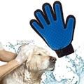 pet deshedding brush glove dog cat gentle efficient massage grooming bathing brush comb winter
