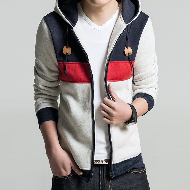 Freeshipping Promotion 2014 Men 39 S New Casual And Sports Korean Style Hoodies Sweatshirt Top