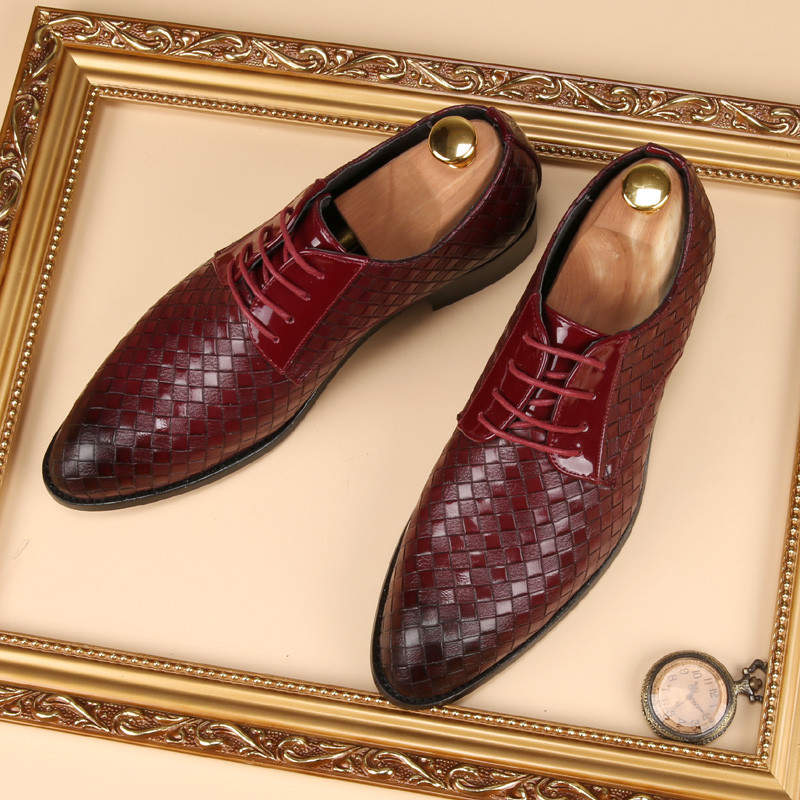 glossy dress bespoke men shoes luxury brand retro italian comfort topsiders footwear unique vintage formal party loafer flats (22)