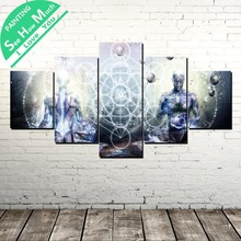 купить!  5 Шт. Анатомия Человека Тела Wall Art Холст Плакат и Печать Холст Картины Декоративная Картина  Лучший!