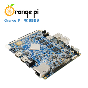 Image 3 - البرتقال بي RK3399 4 GB DDR3 16 GB EMMC ثنائي النواة Cortex A72 مجلس التنمية دعم الروبوت 6.0