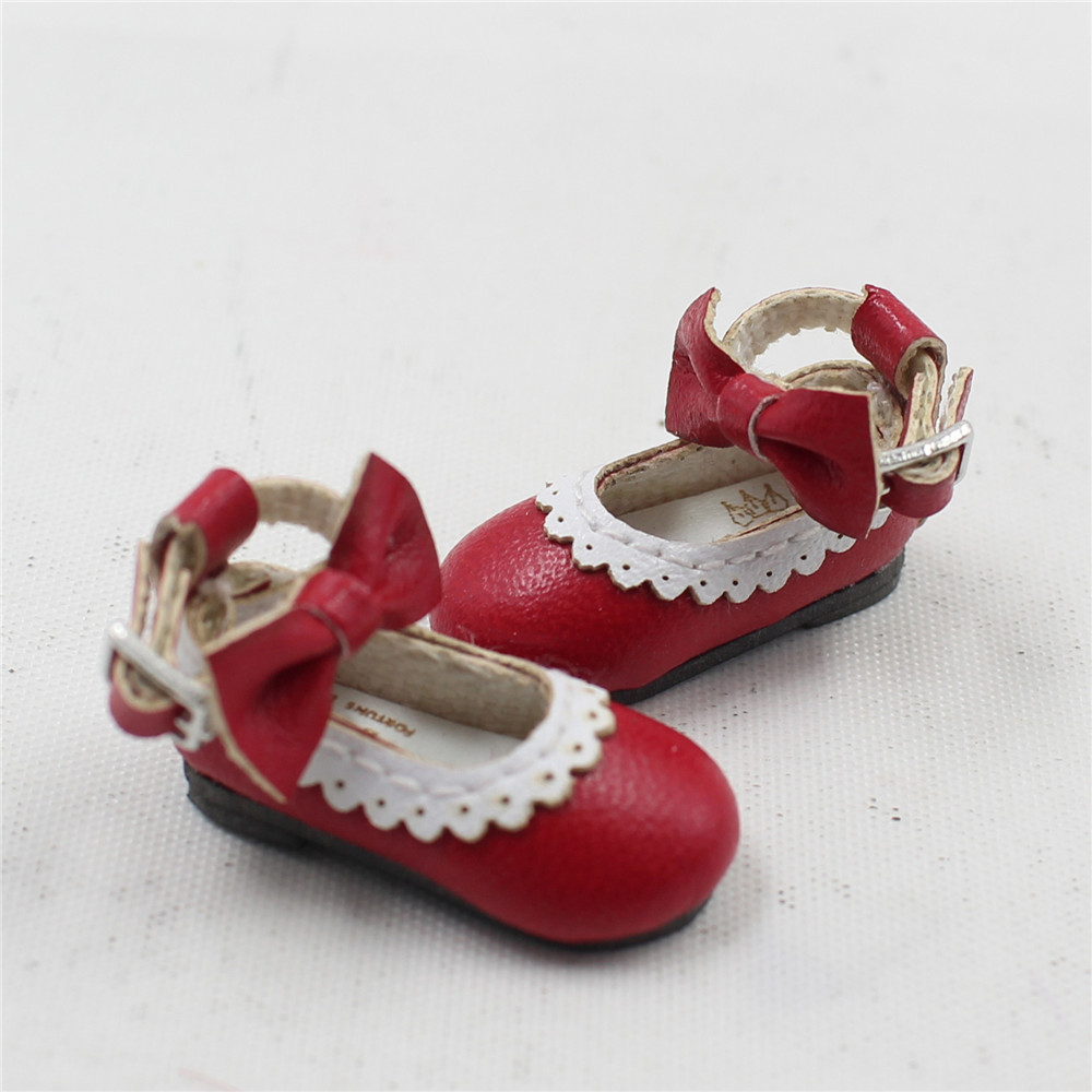 Neo Blythe Doll Designer Shoes with Bow 8
