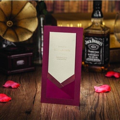 Aliexpress Buy Wedding Invitations Elegant Ribbon Free – Free Custom Wedding Invitations