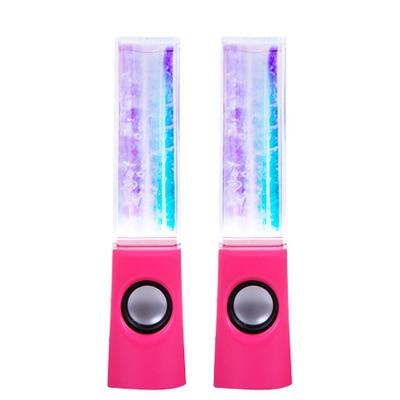 Dancing Water Speaker Portable Mini USB LED Light Bluetooth Speaker For PC MP3 MP4 PSP