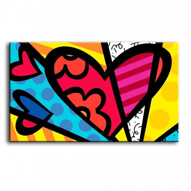 100% dipinto a mano famosi artisti pittura a olio Moderna di alta ...