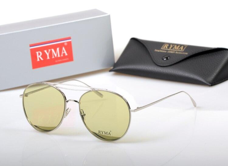 2019 New Style Candy Color pilot Sunglasses Women Transparent Lens Sunglasses titanium Frame Shades Glasses Oculos de sol gafas