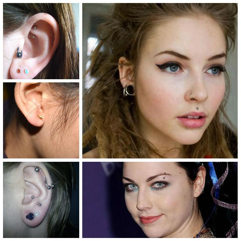 G23titan 100% G23 Titanium tijelo uho obrva pupak usta piercing nakit - Modni nakit - Foto 3