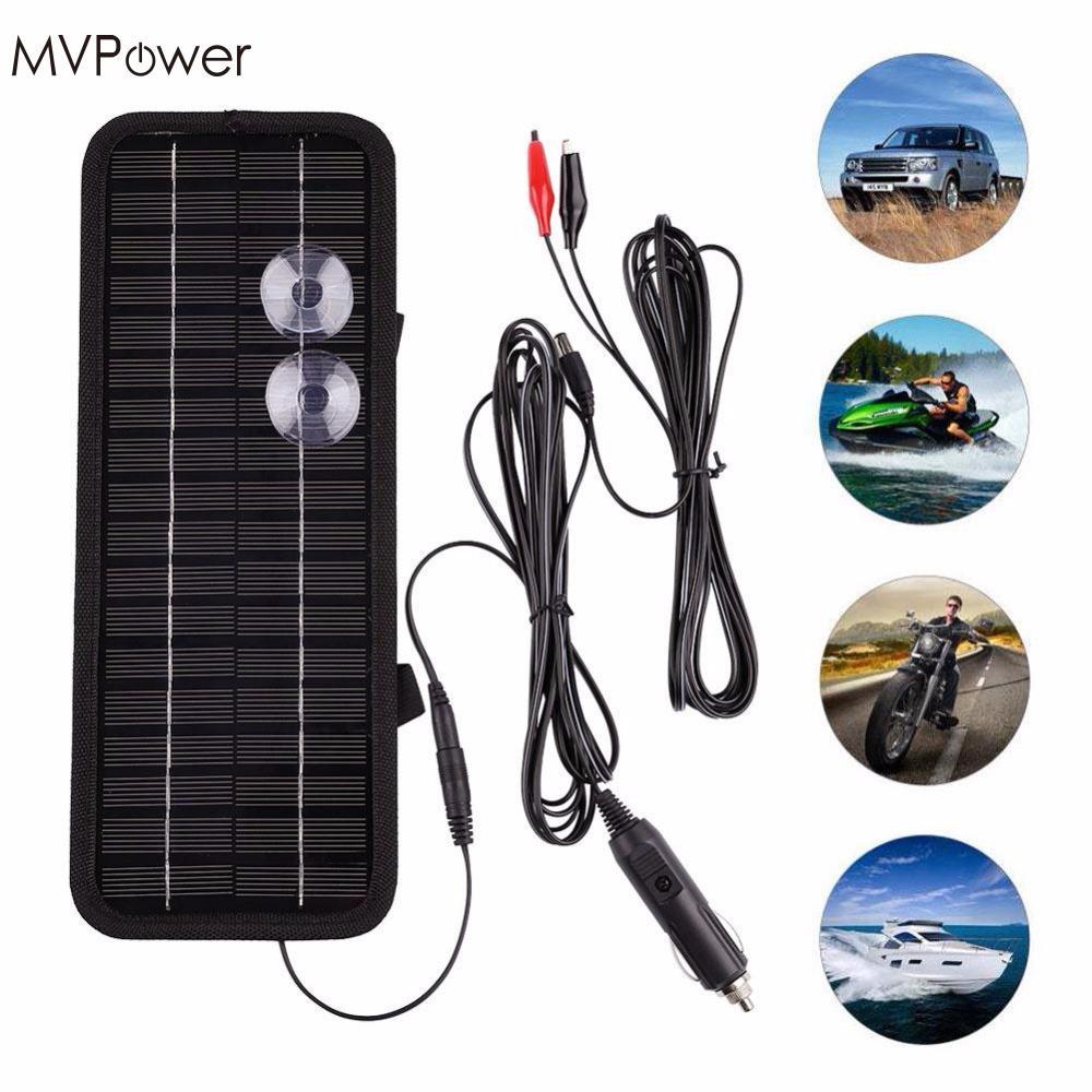 Portable Solar Car Battery Charger 18v 75w Power Based Multipurpose Circuit 2018 Panel 12v 5w Multi Purpose Bank For