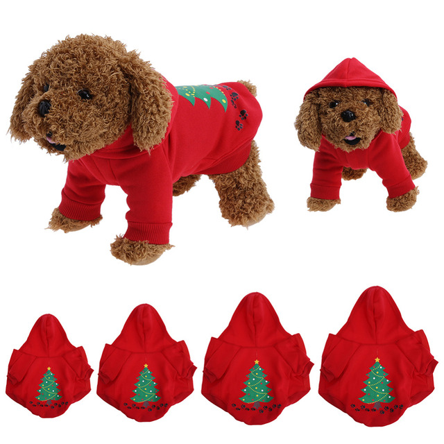 Christmas Dog Clothes Xmas Costume Pet Dog Cat Clothes Yorkshire Coat  Clothing for Small Dog Cat - Christmas Dog Clothes Xmas Costume Pet Dog Cat Clothes Yorkshire