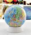 Dia 13 CM globo terrestre de Alta definición Inglés y Chino Para Niños juguetes De Ahorro De ahorro de dinero de Los Estudiantes presentes