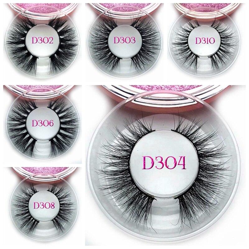 Wholesale Glamorous Eye Lashes Own Brand Eyelashes And Private Label 3D Eyelashes Mink Faux Lashes