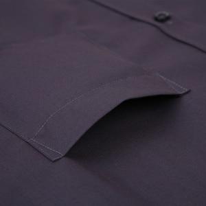 Image 3 - 2020 ใหม่ผู้ชายชุดเสื้อสีทึบPLUSขนาด 8XLสีดำสีขาวสีฟ้าสีเทาChemise HOMMEชายธุรกิจCASUALเสื้อแขนยาว