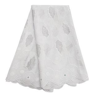 Image 5 - Tecido de renda seco tecido de renda para vestidos de casamento tecido de voile suíço de algodão