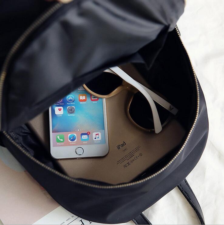 HTB1kj4havNNTKJjSspkq6yeWFXaf 2019 New Women Backpacks Vintage Korea Brand Design Bag Travel Anti Theft Backpack Nylon High Quality Small Rucksack ZZL188