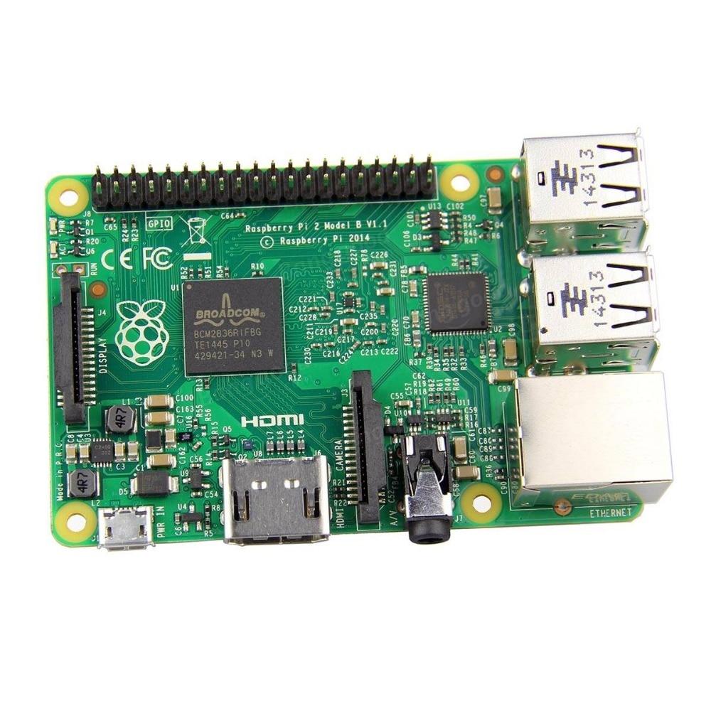 Raspberry Pi 2 Model B ARM7 Quad Core CPU 1GB RAM 900MHz Support Windows 10 Ubuntu Etc.