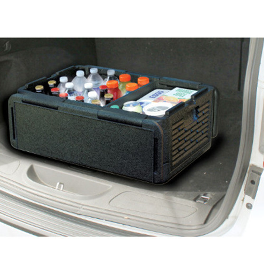 60 Cans Car Organizer Chill Chest Cooler Collapsible Portable Outdoor Thermos Cool Box Insulated Waterproof Storage Boxes термосумка thermos e5 24 can cooler 19л [555618] лайм