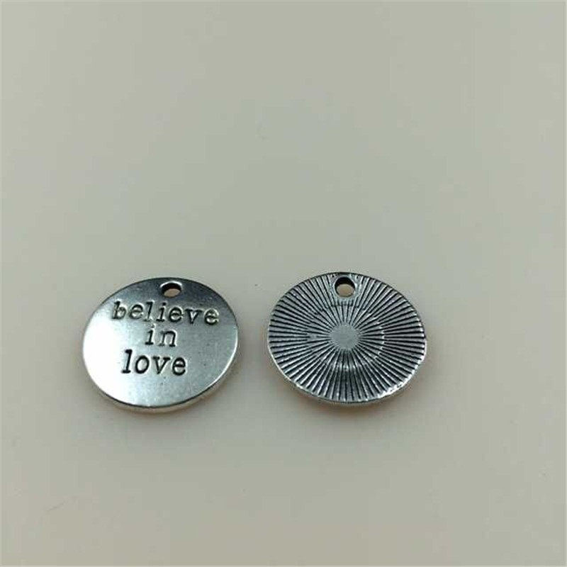30pcs Vintage Silver Alloy Mixed Buttons Pendant Charms DIY Accessories 06262
