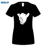 GILDAN Hot Sale Super Fashion Adult Hang Loose Cartoon Hand Mickey Shaka Sign T Shirt Sale