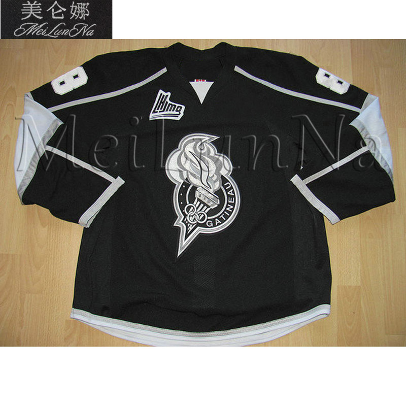 MeiLunNa Customize QMJHL Gatineau Olympiques Hockey Jerseys 19 Craig 28 Claude Giroux Home Road Third Sewn On Any Name NO. Size цена