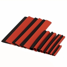150 PCS Halogen-Free 2:1 Heat Shrink Tubing Wire Cable Sleeving for Wrap Wire Kit Electronic Supplies