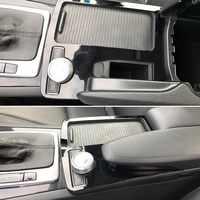 Console Armrest Stickers Trim Cover Car Styling for Mercedes-Benz C-class C180 C200 W204 2008-2014 LHD C180 C200 C260 C300