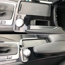 Console Armrest Stickers Trim Cover Car Styling for Mercedes-Benz C-class C180 C200 W204 2008-2014 LHD C180 C200 C260 C300(China)