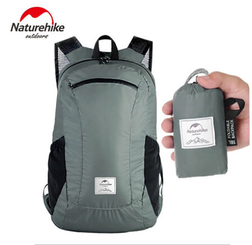 Naturehike Ultra Ligera Mochila Plegable de SenderismoDeportes al aire libre / Bolsa de Viaje Nylon Impermeable
