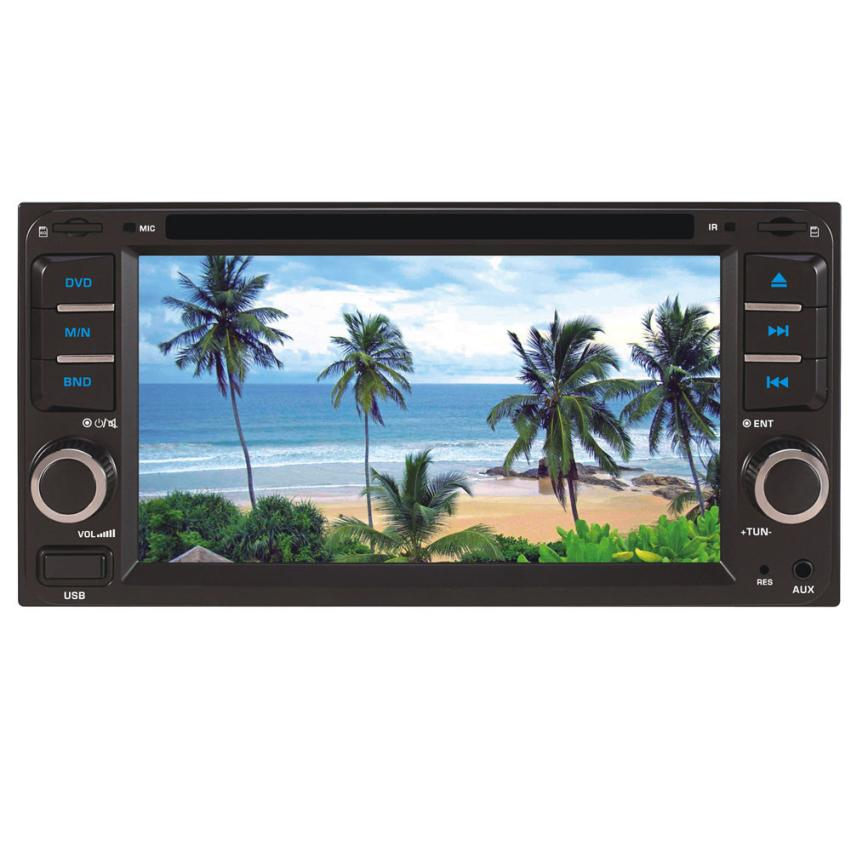 In Dash Car Touch USB/SD/MP3/MP5 Player AUX FM Radio Stereo Bluetooth Double DIN Ja29