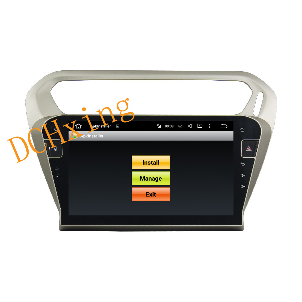 """Clearance 10.1"""" Octa Core Android 9.0 8 core 64G ROM 4G RAM Car DVD Player for Peugeot PG 301 2013-2016 Citroen Elysee GPS Radio 5"""
