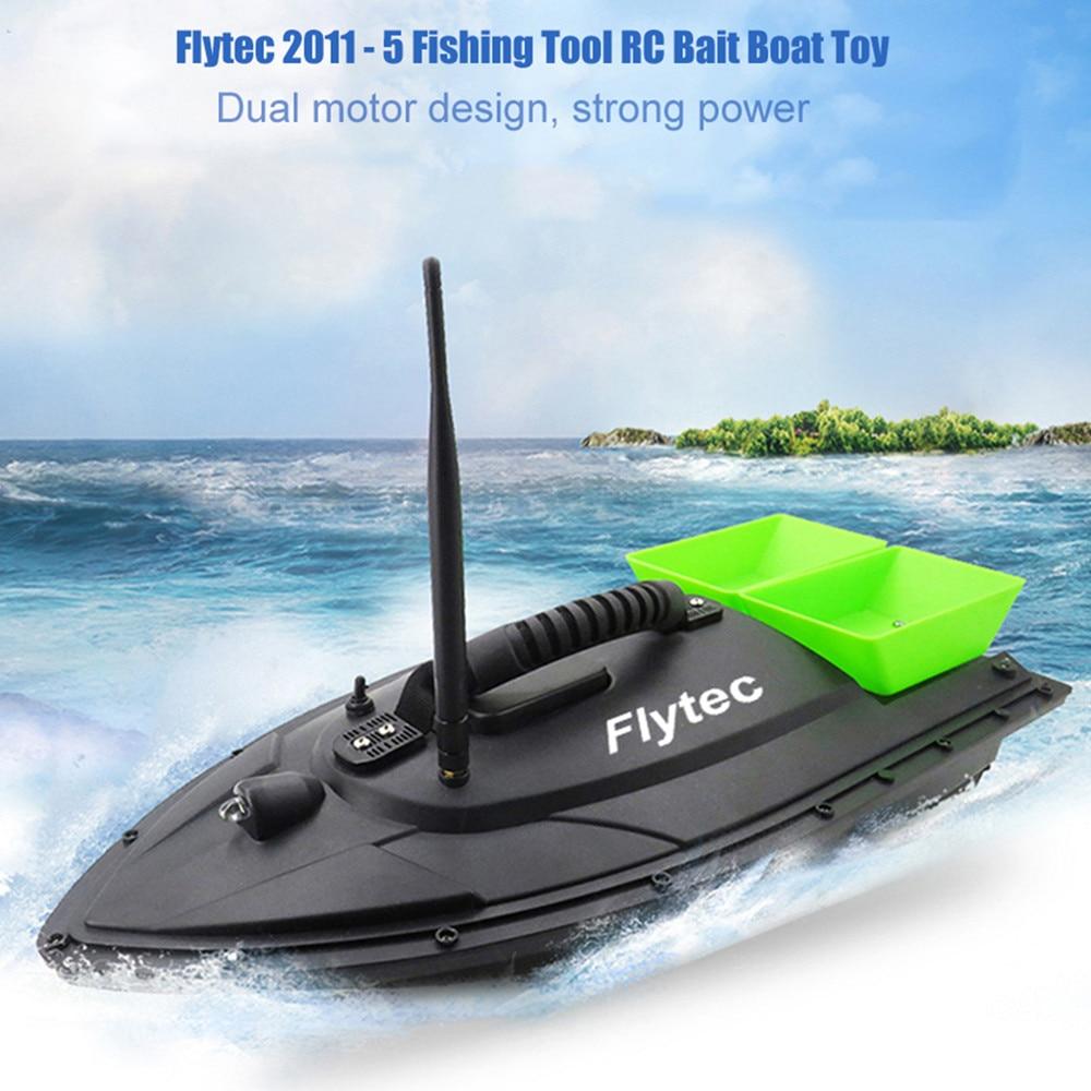 Nouveau Flytec 2011-5 poisson outil trouveur poisson bateau 1.5 kg chargement 500 m RC pêche appât bateau 2011-15A RC bateau hors-bord RC jouets