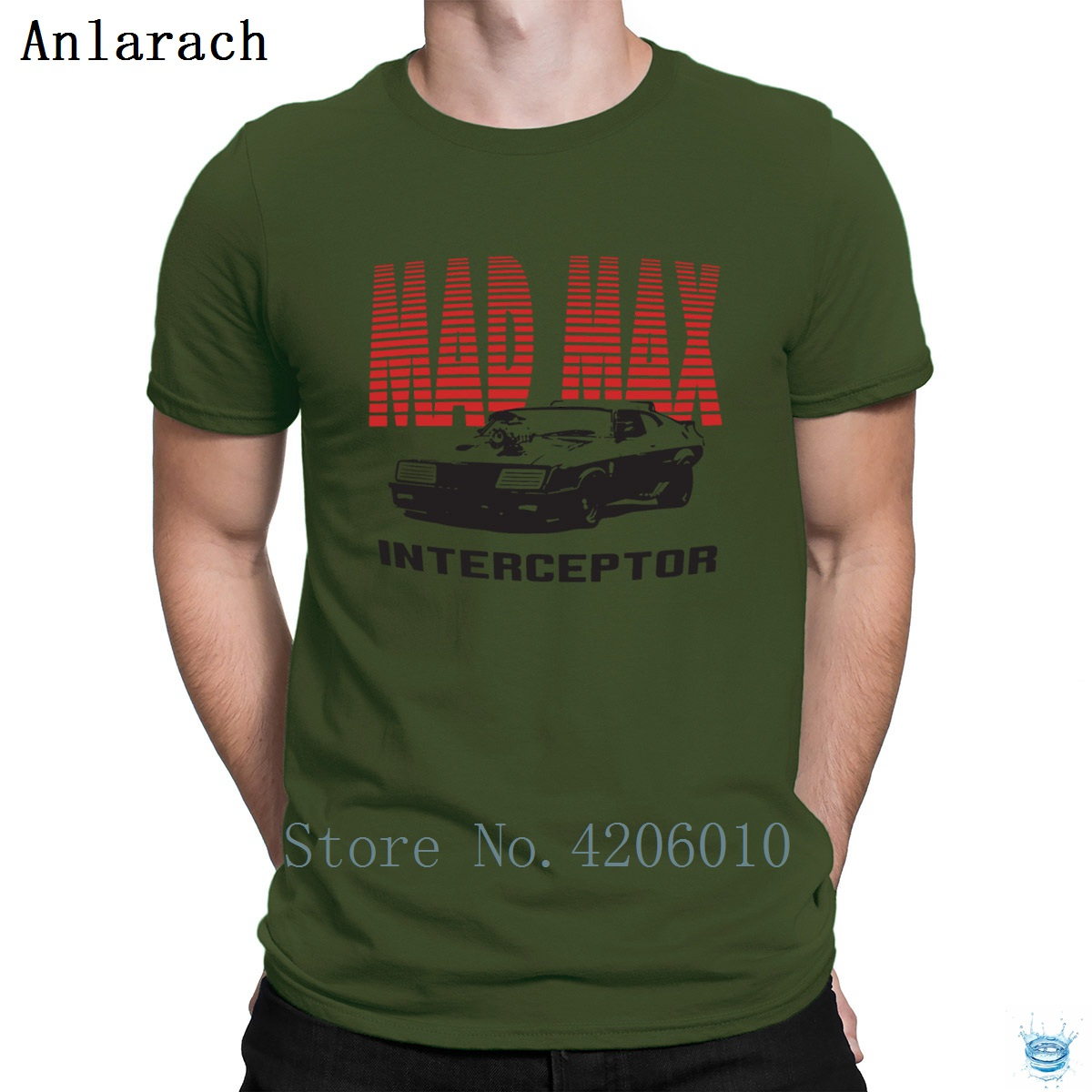 Mad Max Mfp Interceptor Retro Movie <font><b>V8</b></font> Car Pursuit <font><b>Tshirts</b></font> Standard Printing T Shirt For Men 2018 Branded Big Sizes Interesting image