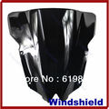 Kris hot New Motorcycle Windshield Windscreen For Yamaha 2008-2011 YZF R6 2009 2010 Black