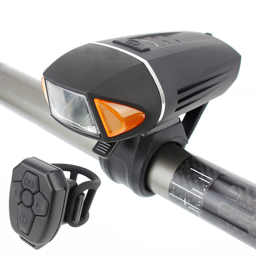 350 люмен велосипедный фонарь Противоугонный велосипед передний свет поворотник USB Перезаряжаемый светодиодный фонарь клаксон для велосипе