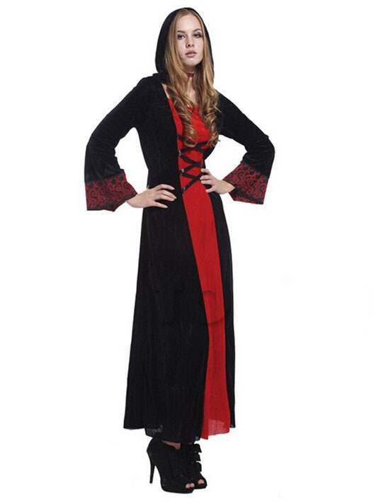 Hearty Free Shipping!!elegant Goethe Robes, All Saints Halloween Party, Costume Party Performance Clothing Bright And Translucent In Appearance