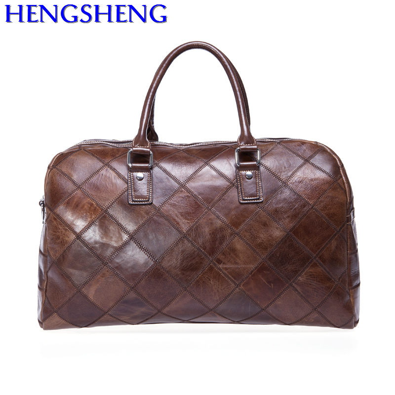 Free Shipping fashion genuine leather travel bag with cow leather men shoulder bags and genuine leather women messengers bags dhl free shipping brand clothing cow leather long jackets men s genuine leather black casual jacket fashion classics
