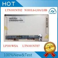 Free shipping M101NWT2 R1 R2 CLAA101NB01 LTN101NT02 LTN101NT06 B101AW03 V.0 V.1 HSD101PFW2 N101L6 L02 LP101WSA 1024X600 10.1LED