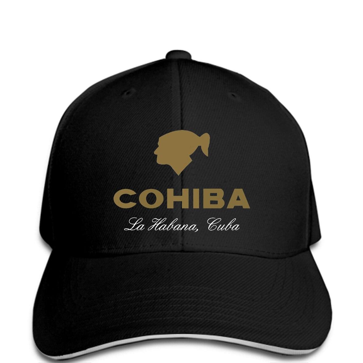 New Fashion Men Baseball Cap Cool Man Cohiba Cigar Humidor Havana Smoking Relax Quality Adult Hat Novelty Tsnapback Women Men's Hats