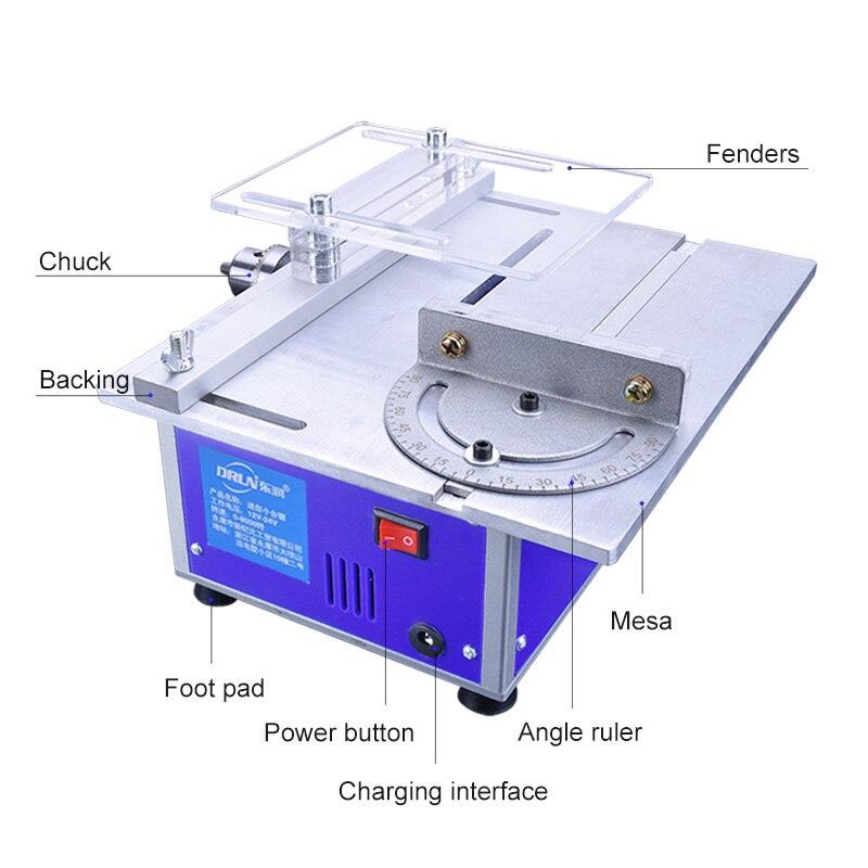 Scie électrique Machine de découpe scie multifonctionnelle outil électrique coupe polissage scies de sculpture précision menuiserie tronçonneuse